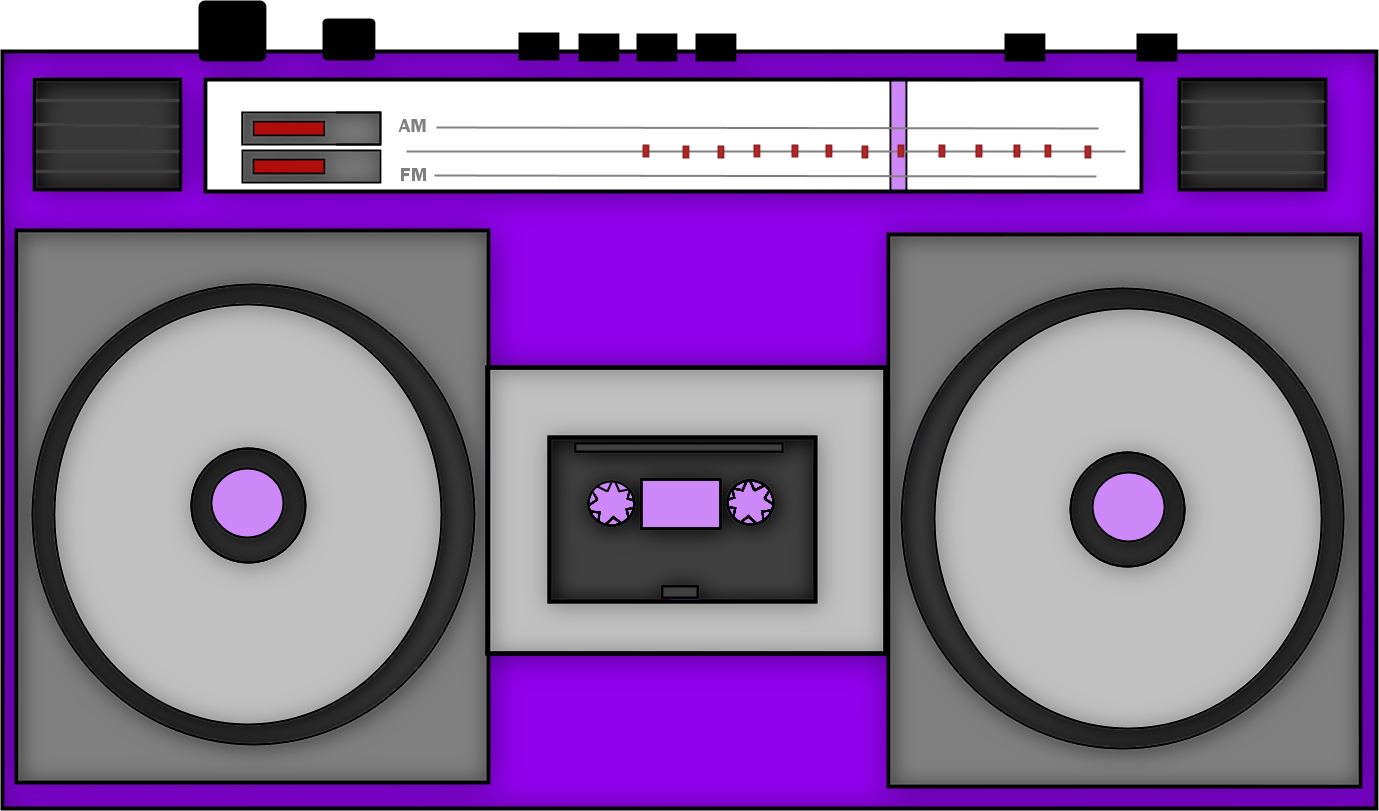 Free s cliparts download. 80's clipart stereo