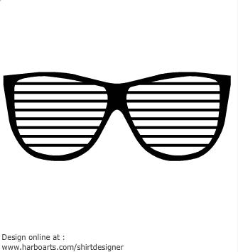 80's clipart sunglasses