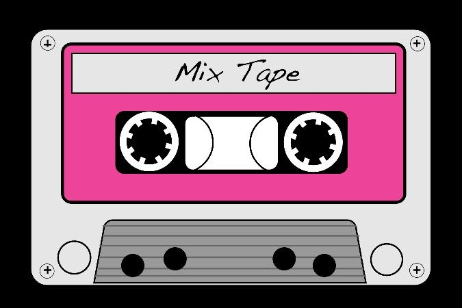 Pin by brandy gleim. 80's clipart tape recorder