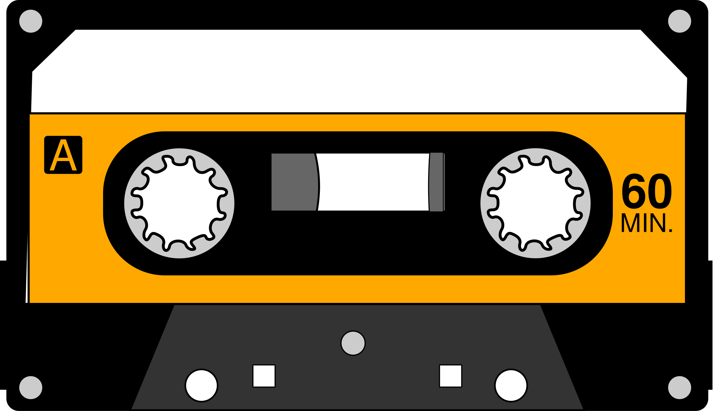 Cassette by algotruneman once. 80's clipart tape recorder