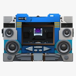 80's clipart tape recorder. Vintage s radio png