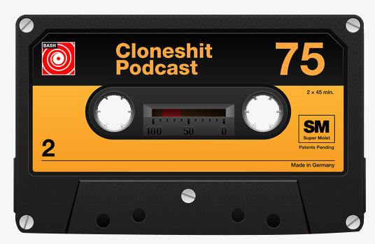 Magnetic cassette product kind. 80's clipart tape recorder