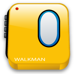 80's clipart walkman. Icon s iconset iconshock