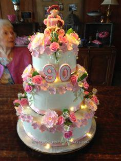 Admirable 90S Clipart 90Th Birthday Cake 90S 90Th Birthday Cake Transparent Funny Birthday Cards Online Kookostrdamsfinfo