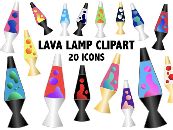 90s clipart eighty. Lava lamp icons s