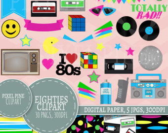 s clip art. 90s clipart eighty