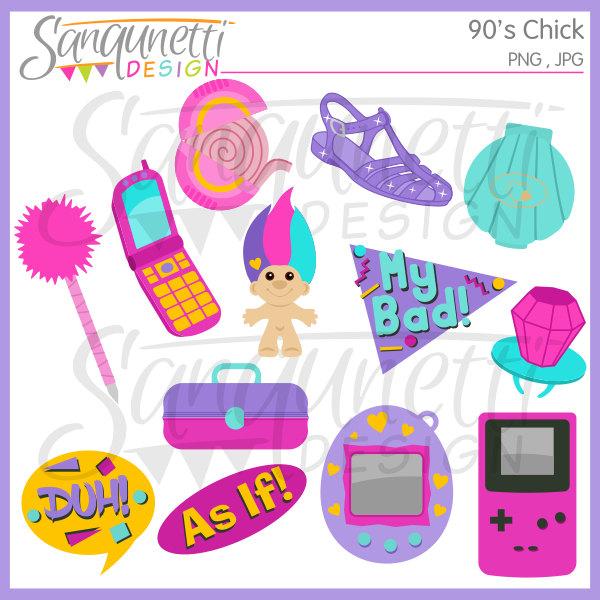 90s clipart pop culture.  s nineties retro