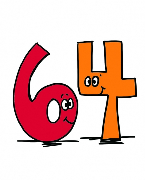 90s clipart sixty. Significant number factoid friday