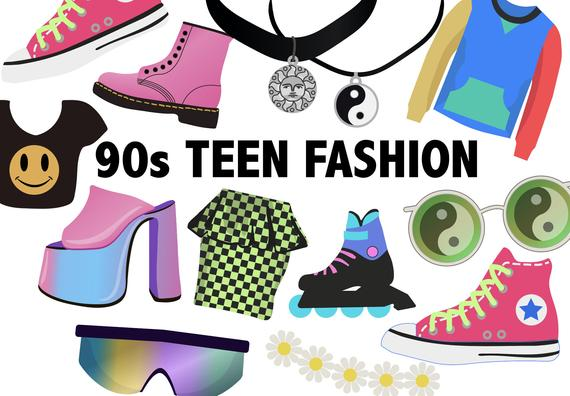 Pin on products . 90s clipart style