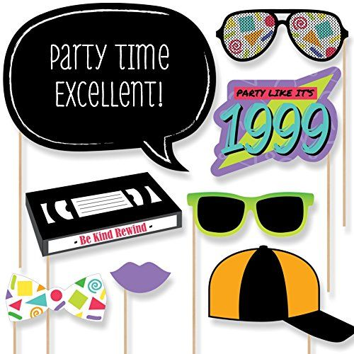 s party photo. 90s clipart throwback