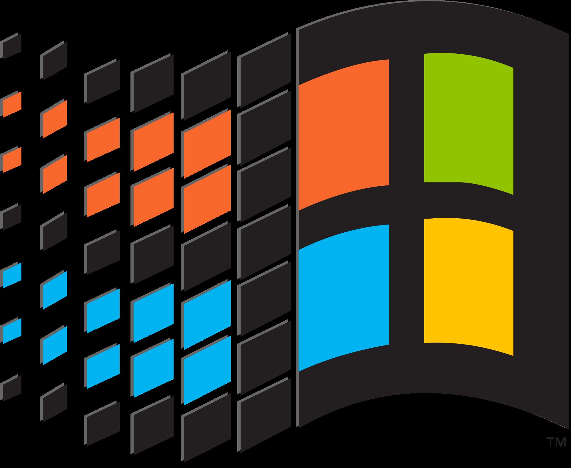 Windows 98 png. Image logo pre xp