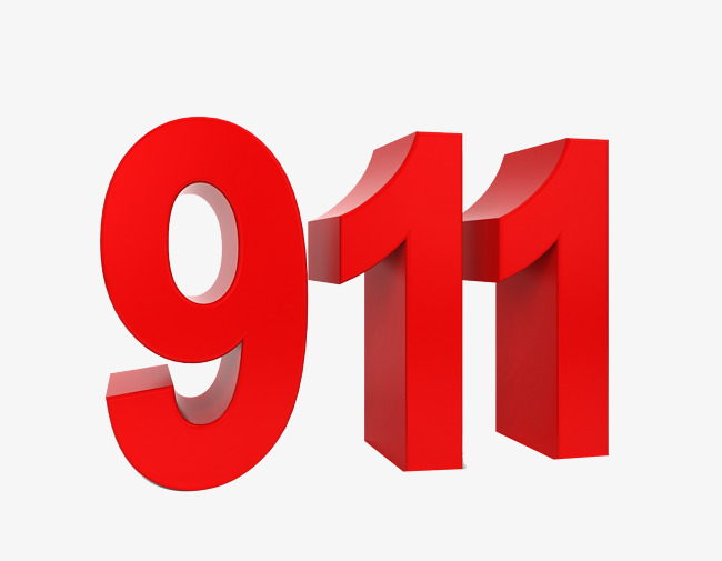 911 clipart.  digits early warning
