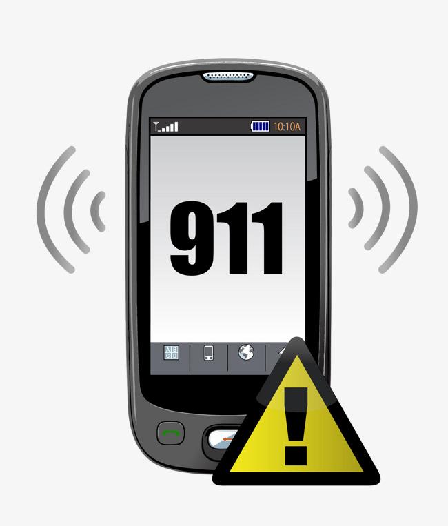 911 clipart 911 phone. Make a call cartoon