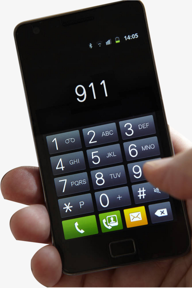 Take your cell and. 911 clipart 911 phone