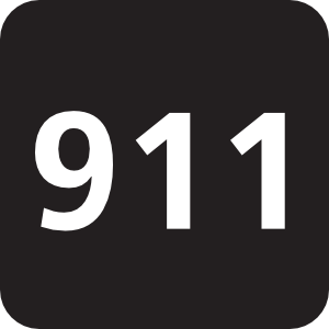 Free emergency cliparts download. 911 clipart black and white