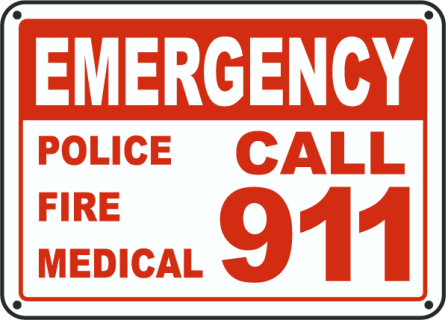 The official langlade county. 911 clipart emergency