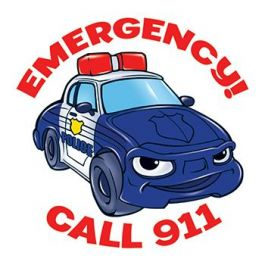 911 clipart emergency. Temporary tattoo reminds you