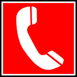 Telephone clipart emergency phone.  collection of high