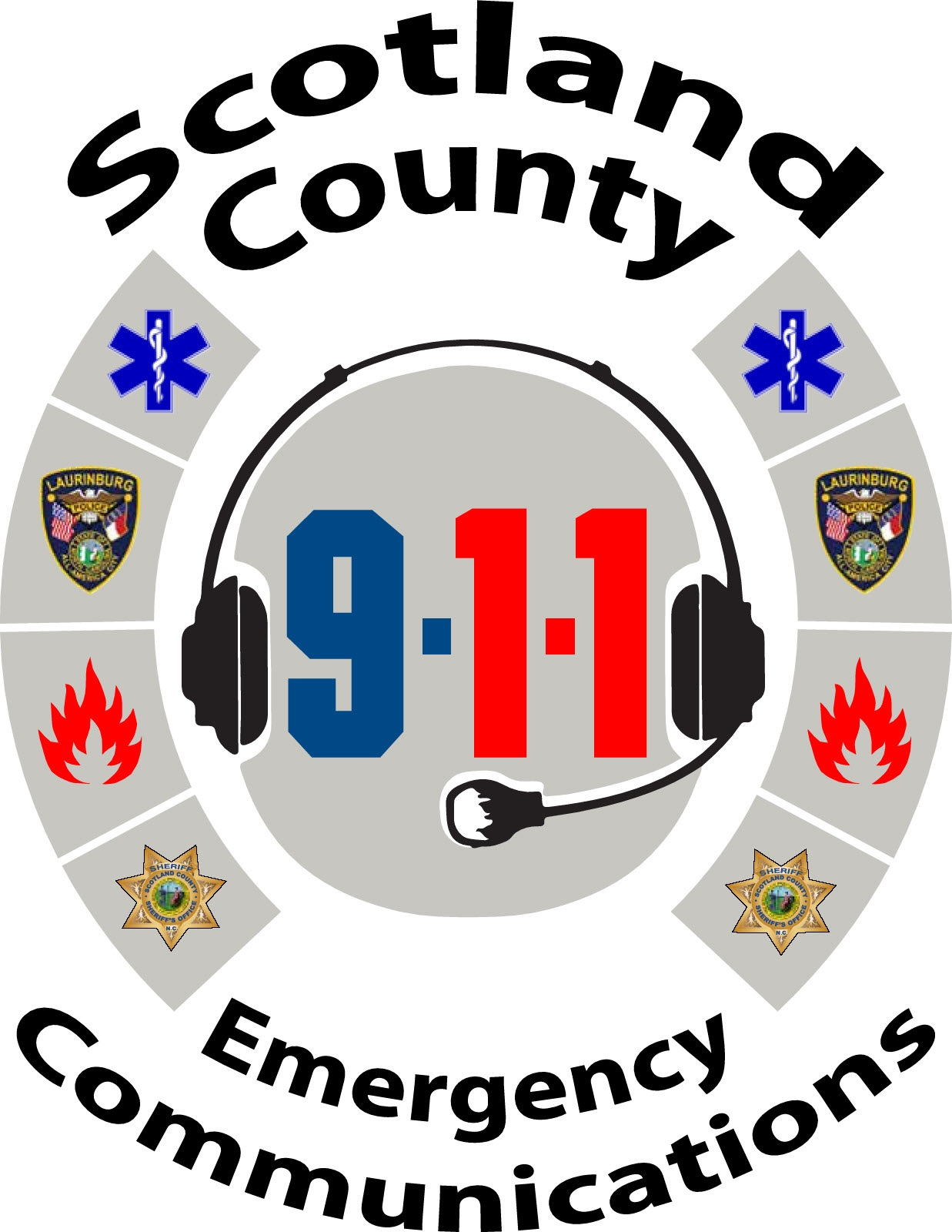 911 clipart fire emergency. Scotland county nc communication