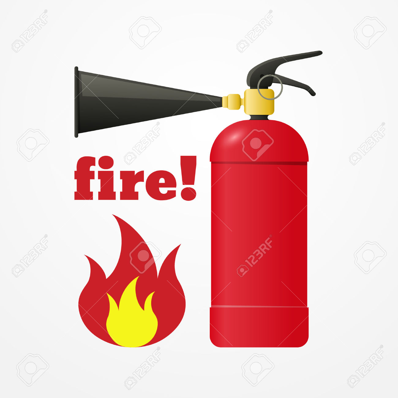911 clipart fire emergency. Flame pencil and in