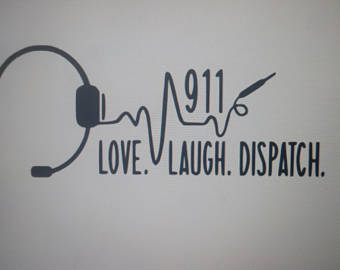 dispatch etsy. 911 clipart headset