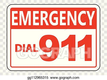 Eps vector emergency call. 911 clipart transparent