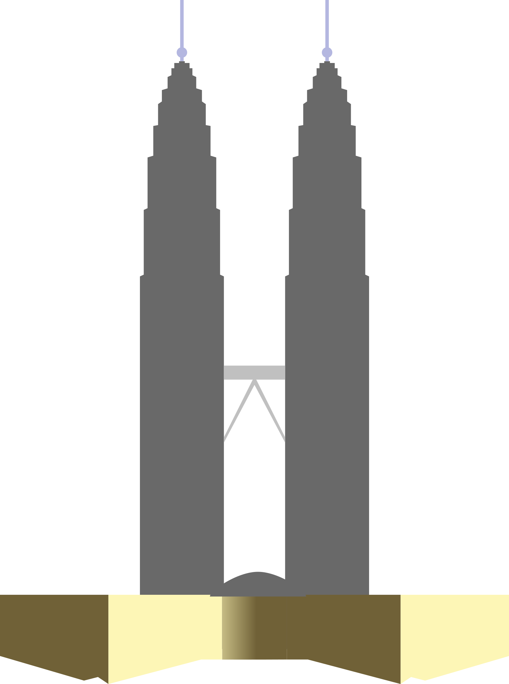 Twin drawing at getdrawings. Tower clipart silhouette