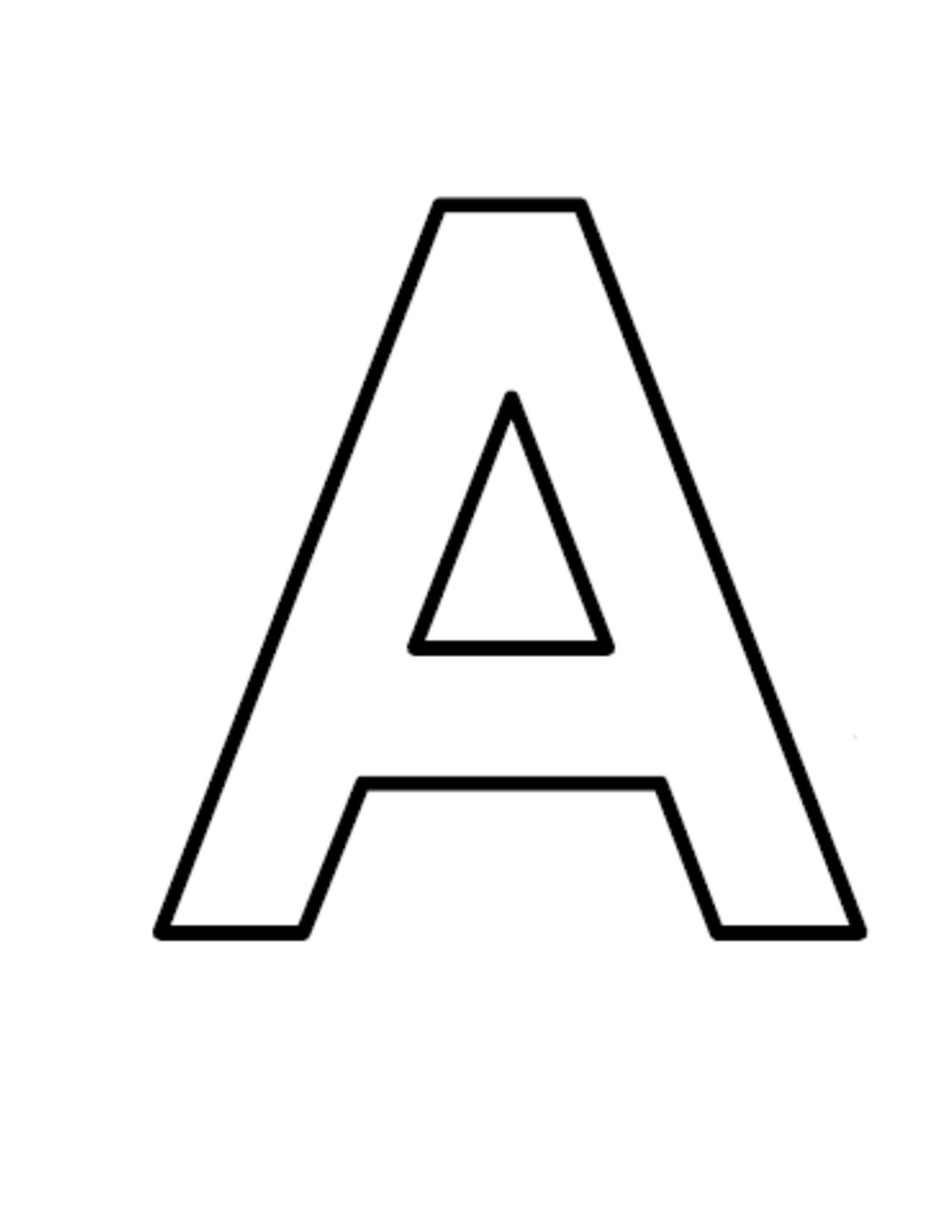Letter image group block. A clipart