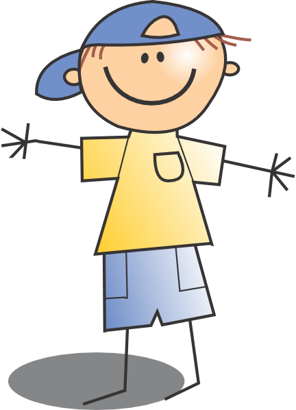 Boy with hat . Boys clipart transparent background