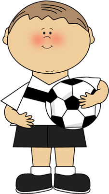 Soccer clip art images. Ball clipart kid