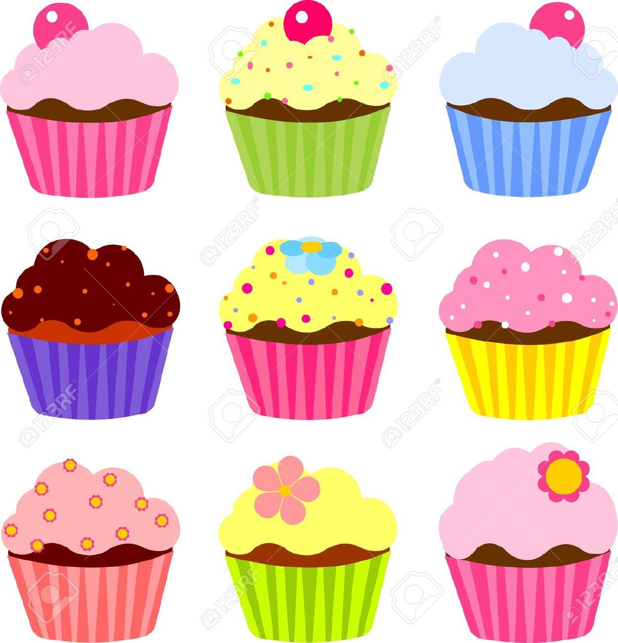Cupcakes fotolip com rich. Baking clipart cupcake