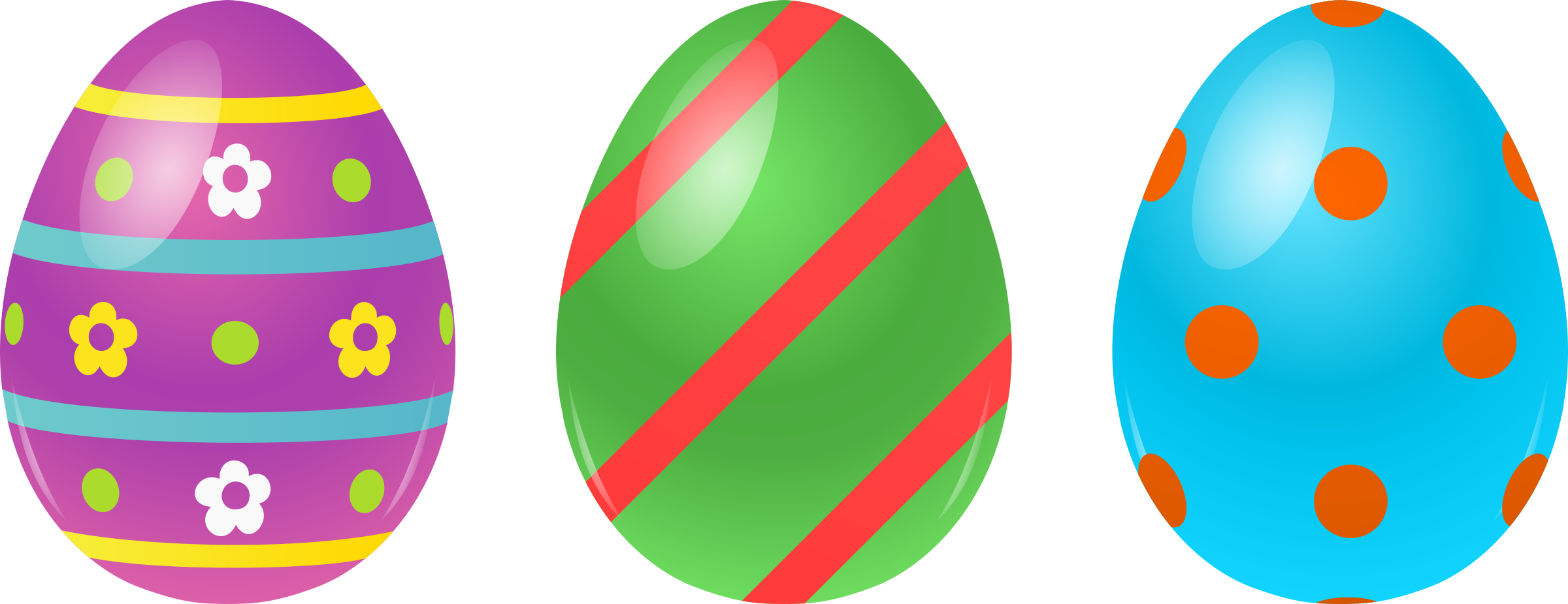 Colors clipart easter. Eggs free clip art