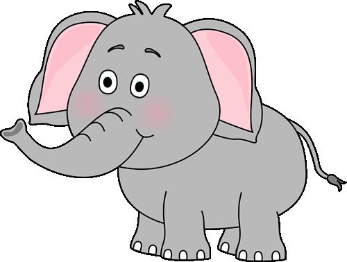 Cute clip art image. Announcements clipart elephant