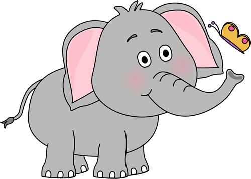 Clip art images and. Clipart elephant