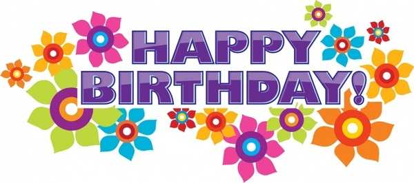A clipart happy birthday. Banner station