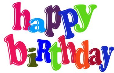 A clipart happy birthday. Adult