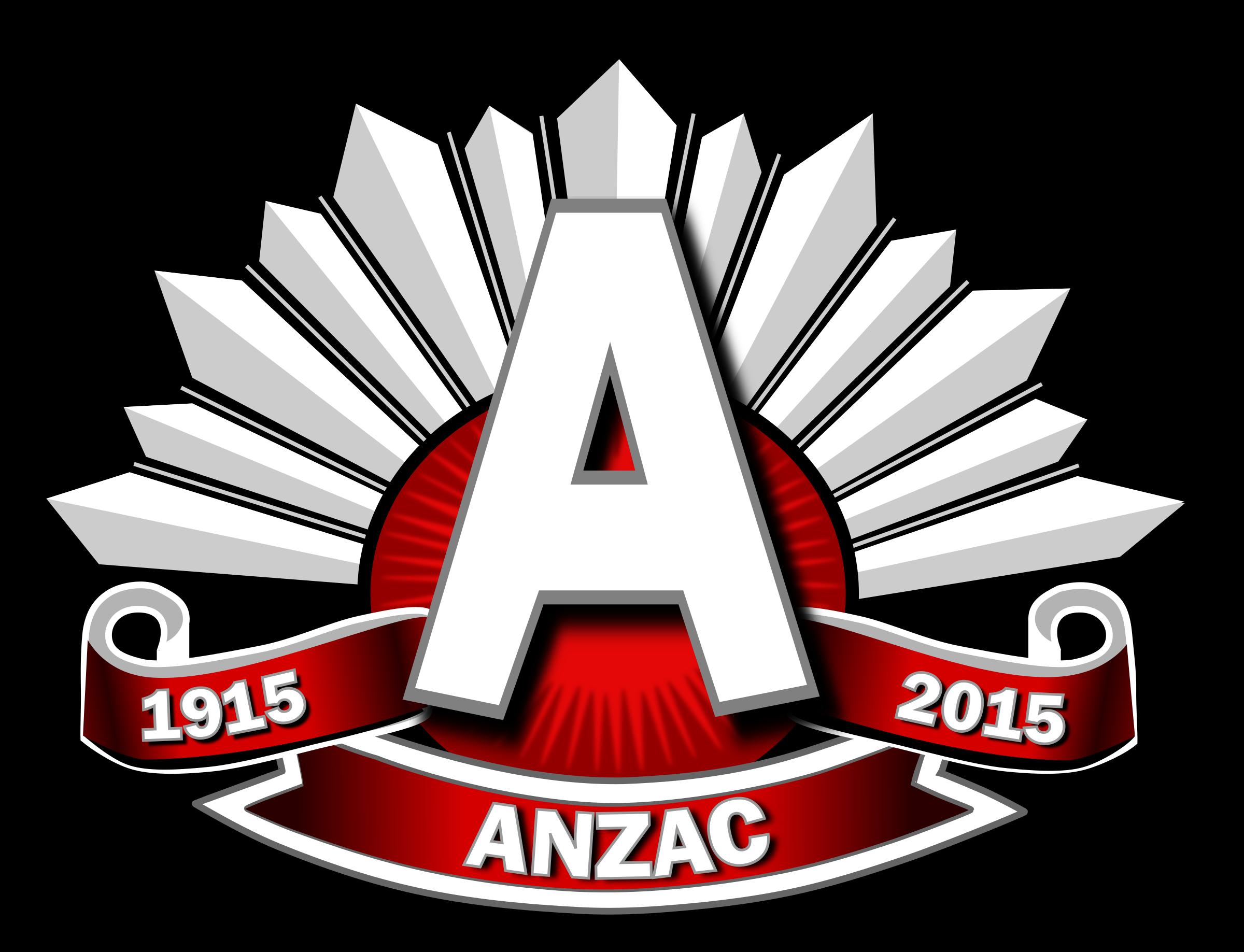 Fern clipart anzac. Logo red big image