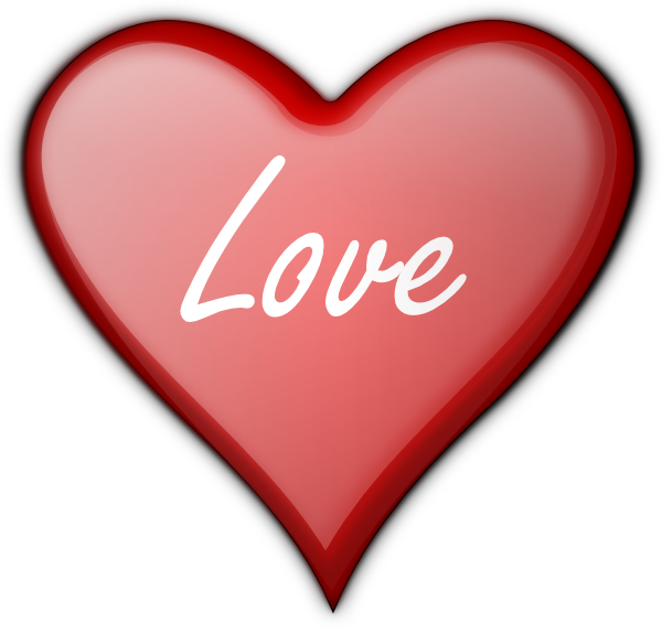 A clipart love. Heart clip art at