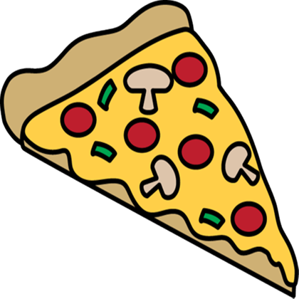Station . A clipart pizza