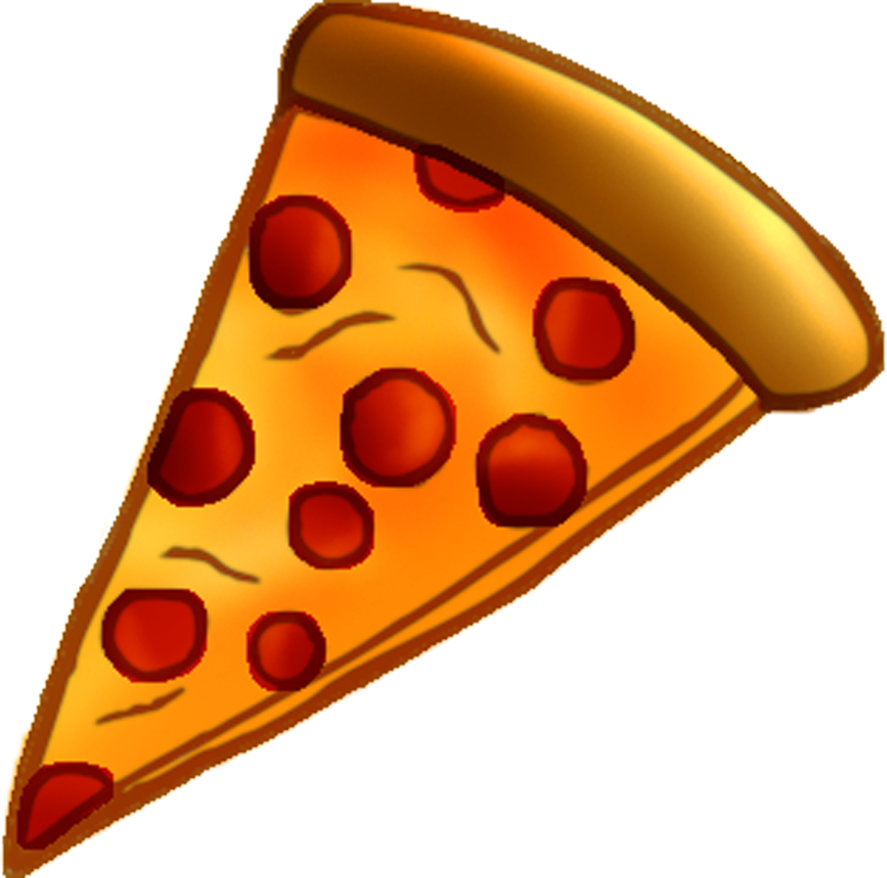 pizza clipart sliced pizza