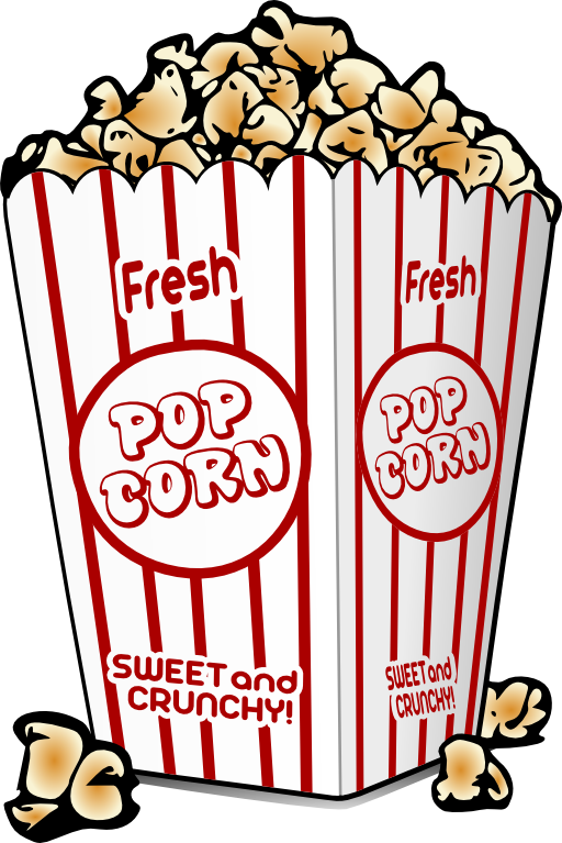 A clipart popcorn. Panda free images info