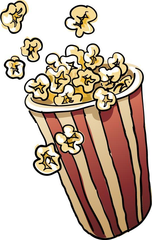 Animated clip art dayblackhat. A clipart popcorn