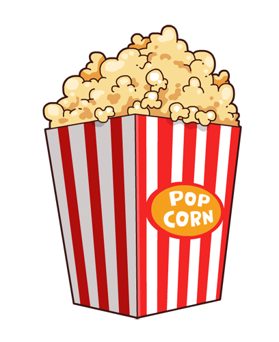 Bucket clipart food. Free popcorn cliparts download