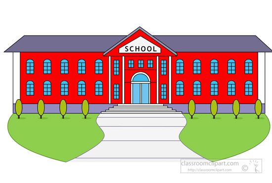 Schoolhouse clipart community school. Free elementary schools cliparts