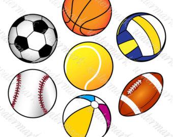 Clip art etsy balls. A clipart sport