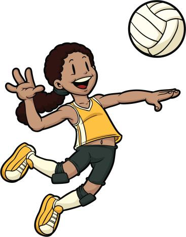 Free female sports cliparts. Children clipart sport