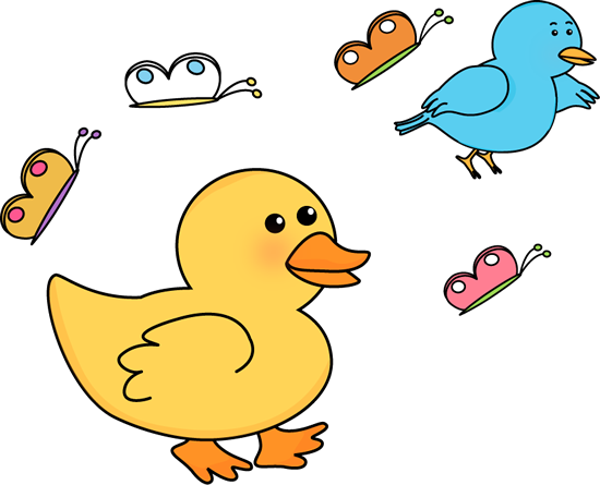 Clip art images critters. Bird clipart spring
