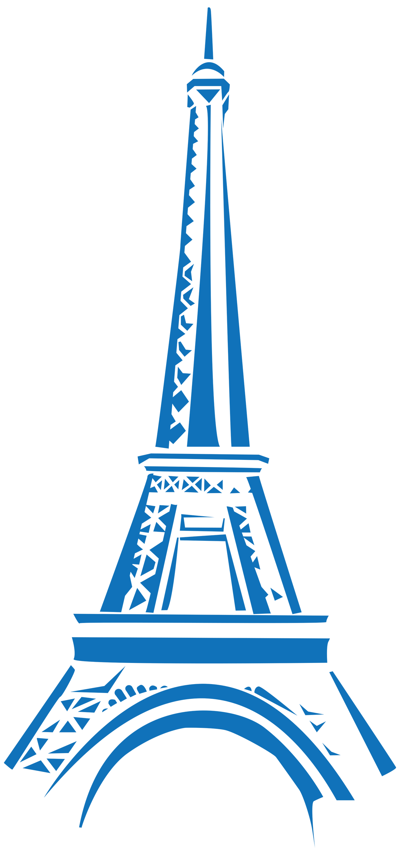 Eifel tower transparent png. Paris clipart blue