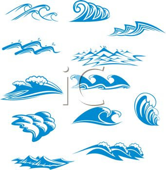 A clipart wave.  best ride the