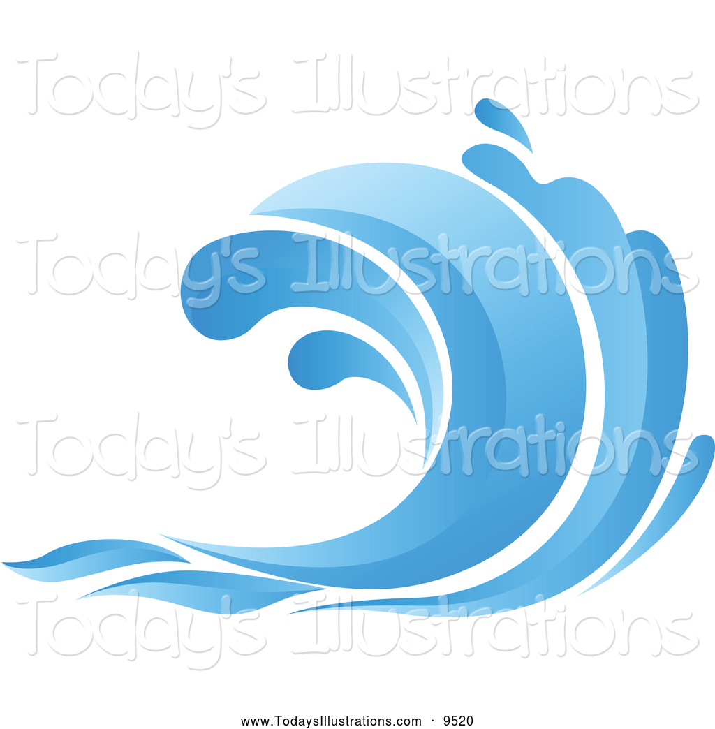 Waves graphics . Clipart wave